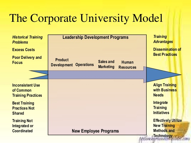 Models of Training: Faculty, Customer, Matrix, Corporate University and Business Embedded Model – theintactone.com